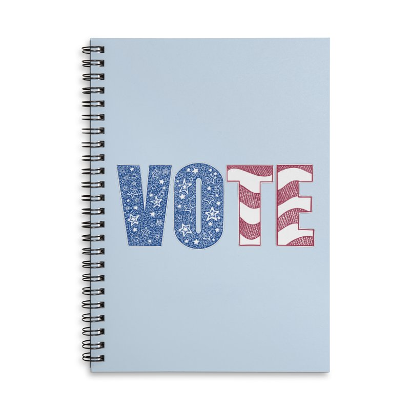 Vote! Accessories Notebook by Incredibly Average Online Store