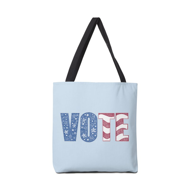Vote! Accessories Bag by Incredibly Average Online Store