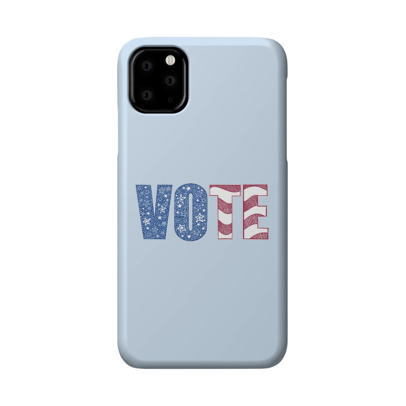 Vote! Accessories Phone Case by Incredibly Average Online Store