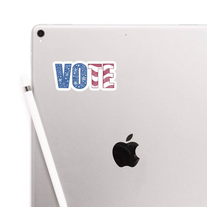 Vote! Accessories Sticker by Incredibly Average Online Store
