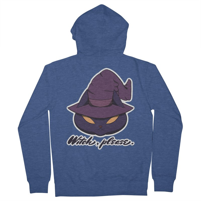 Witch, please. Men's Zip-Up Hoody by Incredibly Average Online Store