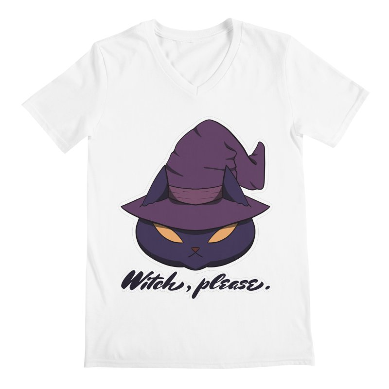 Witch, please. Men's V-Neck by Incredibly Average Online Store