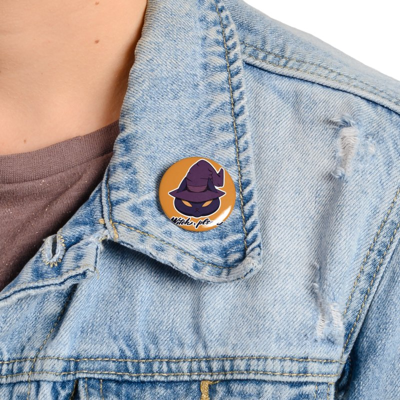 Witch, please. Accessories Button by Incredibly Average Online Store