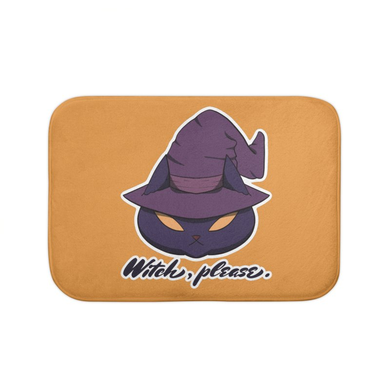Witch, please. Home Bath Mat by Incredibly Average Online Store