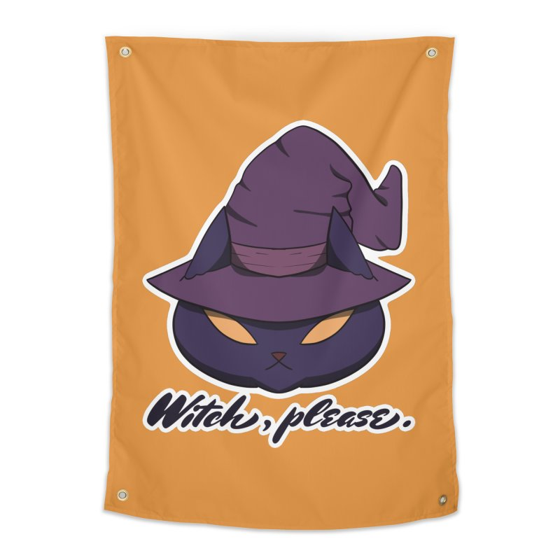 Witch, please. Home Tapestry by Incredibly Average Online Store