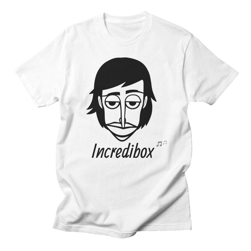 OFFICIAL LOGO in Men's Regular T-Shirt White by INCREDIBOX SHOP