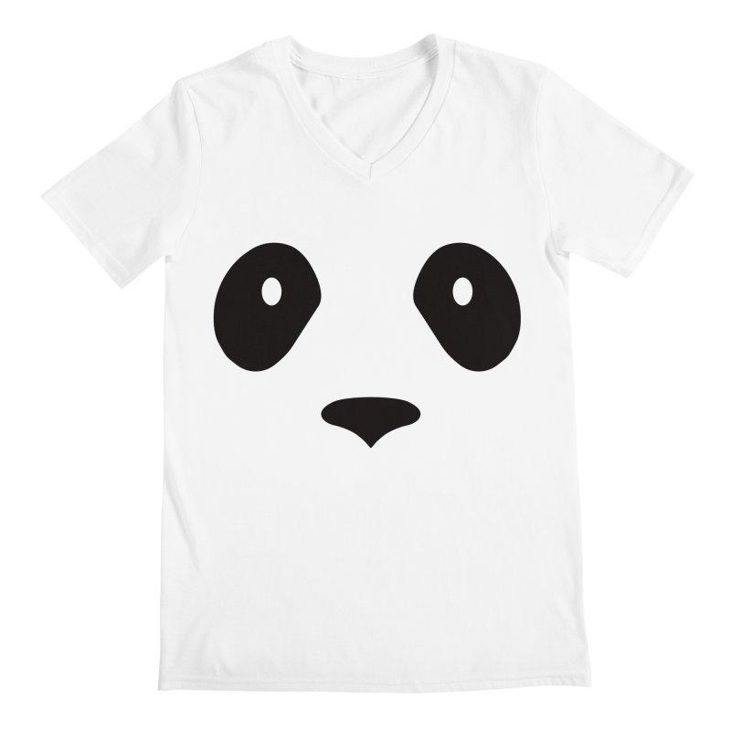 P-P-Panda! Men's V-Neck by independentink's Artist Shop