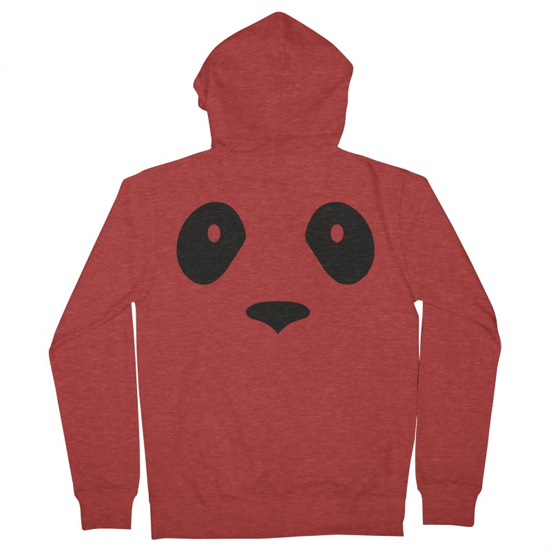 P-P-Panda! Men's French Terry Zip-Up Hoody by independentink's Artist Shop