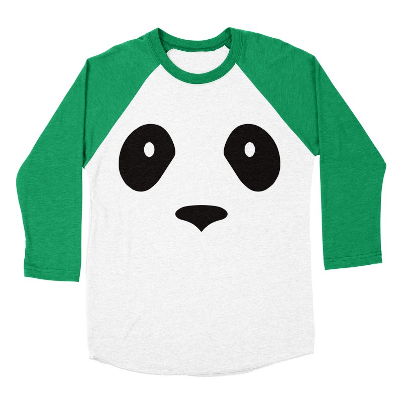 P-P-Panda! Women's Baseball Triblend Longsleeve T-Shirt by independentink's Artist Shop