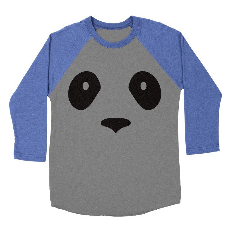 P-P-Panda! Women's Baseball Triblend Longsleeve T-Shirt by independentink's Artist Shop