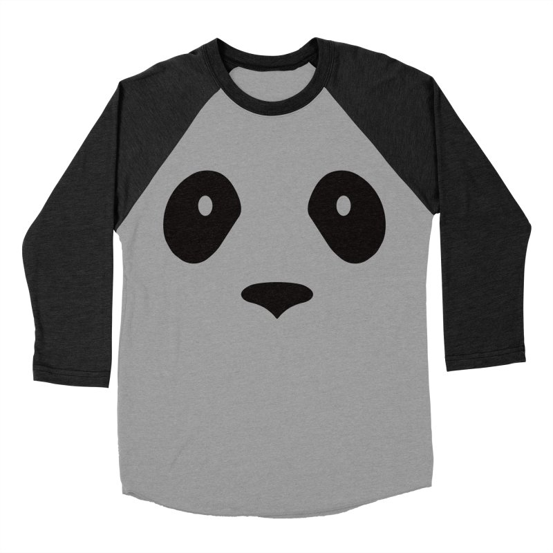 P-P-Panda! Men's Baseball Triblend T-Shirt by independentink's Artist Shop