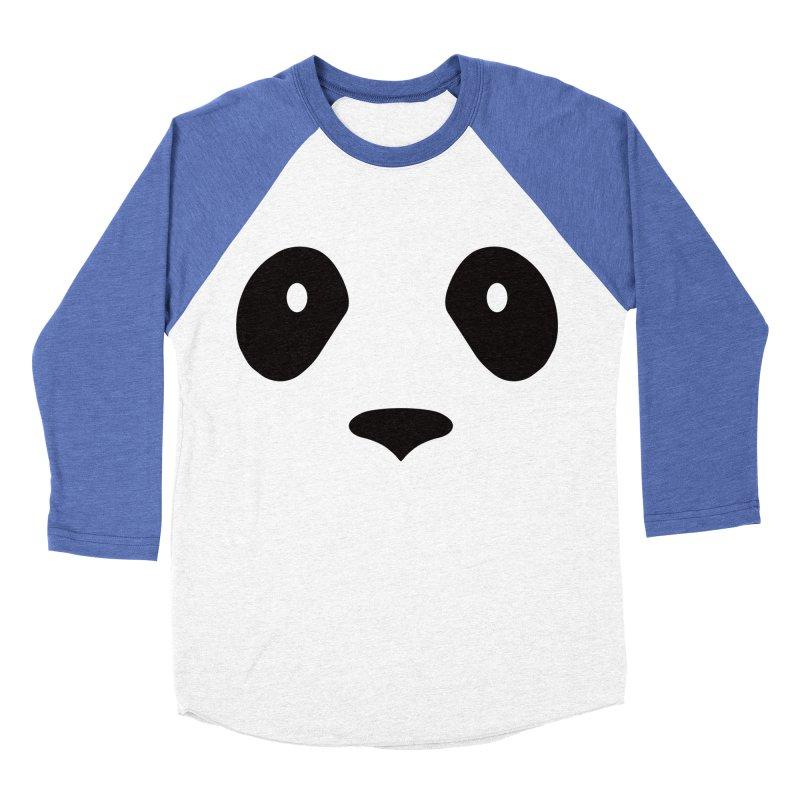 P-P-Panda! Men's Baseball Triblend Longsleeve T-Shirt by independentink's Artist Shop
