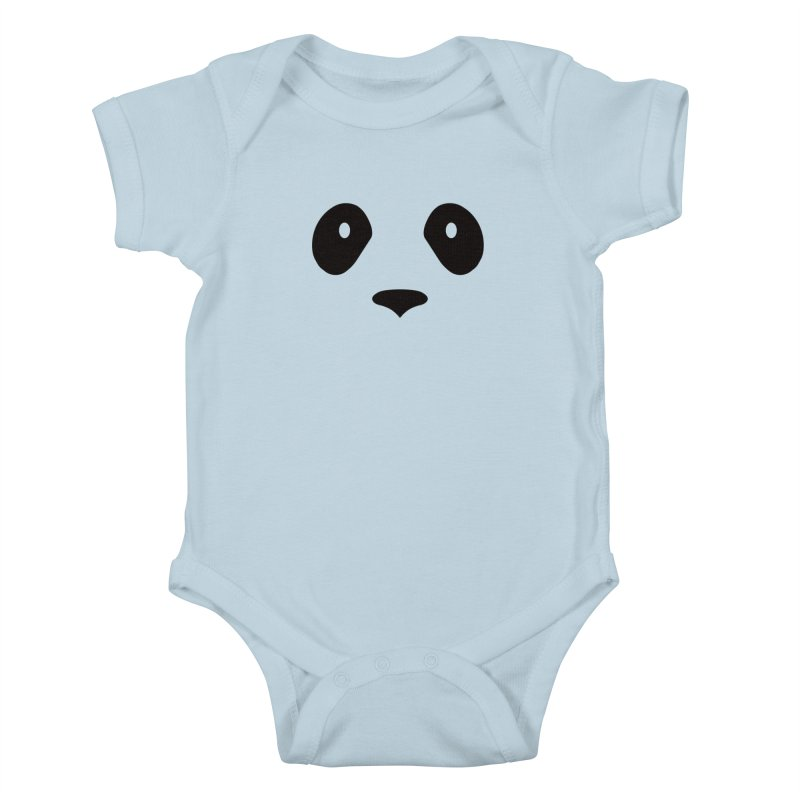 P-P-Panda! Kids Baby Bodysuit by independentink's Artist Shop