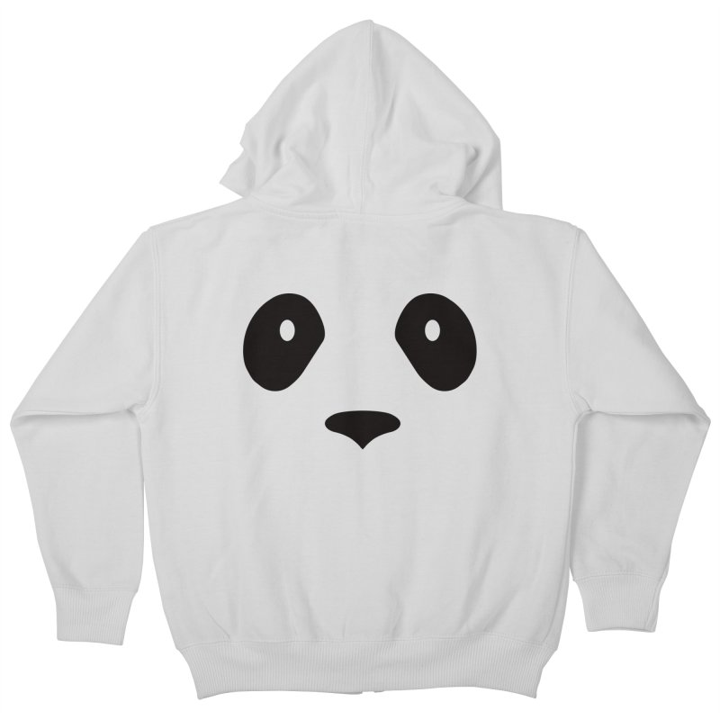 P-P-Panda! Kids Zip-Up Hoody by independentink's Artist Shop