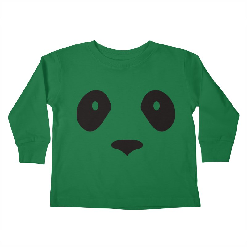 P-P-Panda! Kids Toddler Longsleeve T-Shirt by independentink's Artist Shop