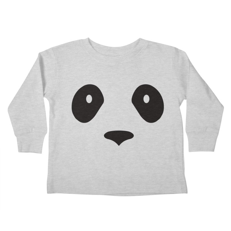 P-P-Panda! Kids Toddler Longsleeve T-Shirt by independentink's Artist Shop