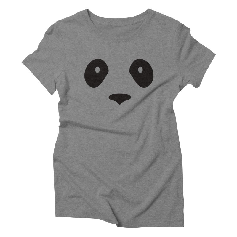 P-P-Panda! Women's Triblend T-Shirt by independentink's Artist Shop