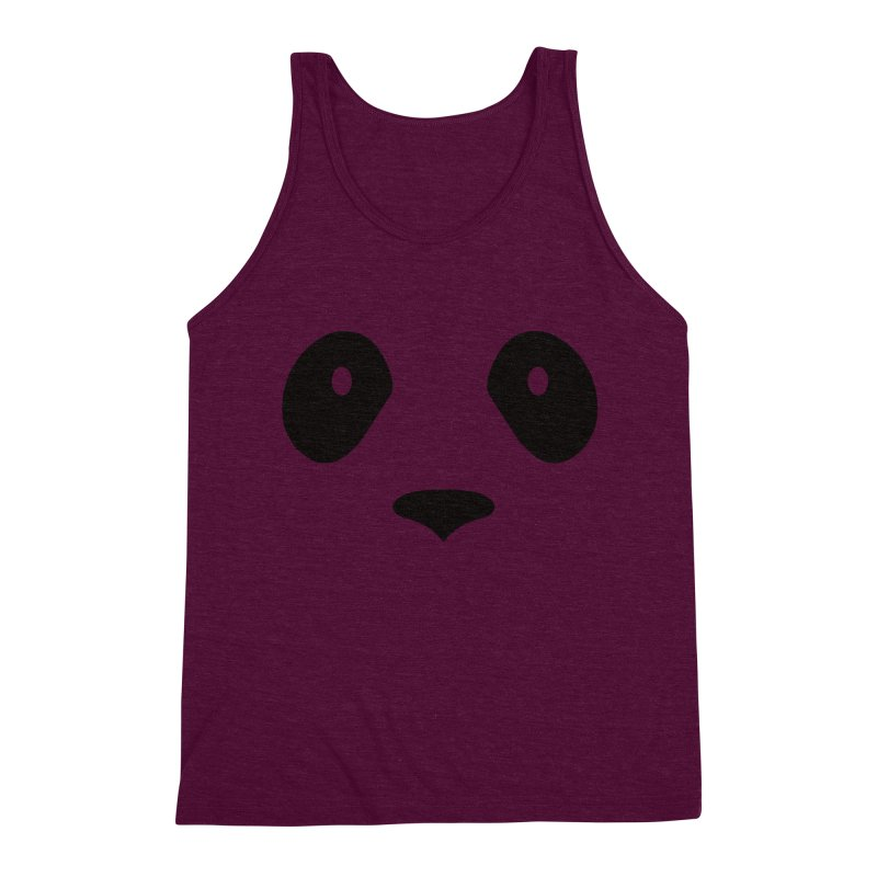 P-P-Panda! Men's Triblend Tank by independentink's Artist Shop