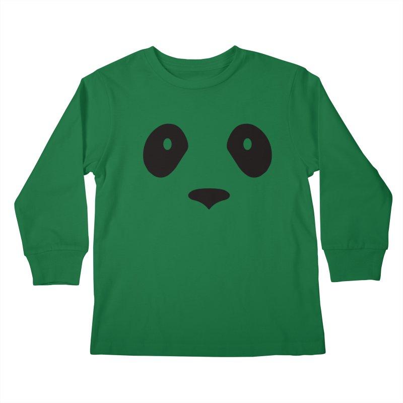 P-P-Panda! Kids Longsleeve T-Shirt by independentink's Artist Shop