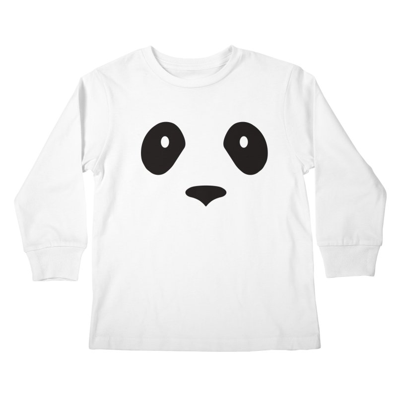 P-P-Panda! Kids Longsleeve T-Shirt by independentink's Artist Shop