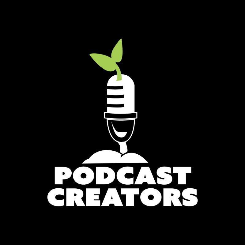 Podcast Creators Logo Men's T-Shirt by Indie Drop-In's Artist Shop