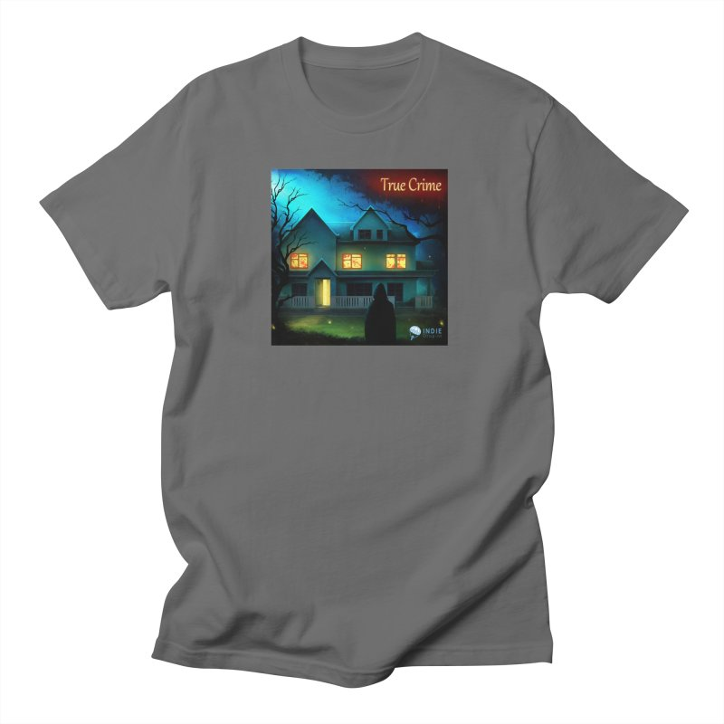 True Crime by Indie Drop-In Men's T-Shirt by Indie Drop-In's Artist Shop