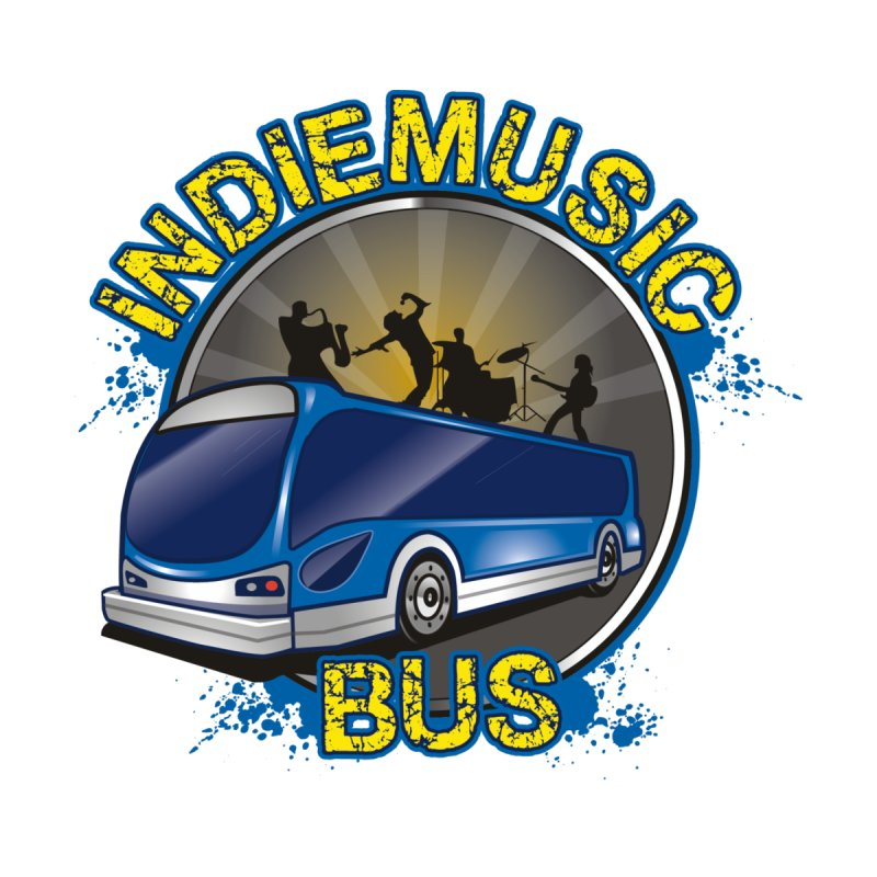 Indie Music Bus Logo Men's Longsleeve T-Shirt by Indie Music Bus Stop and Shop