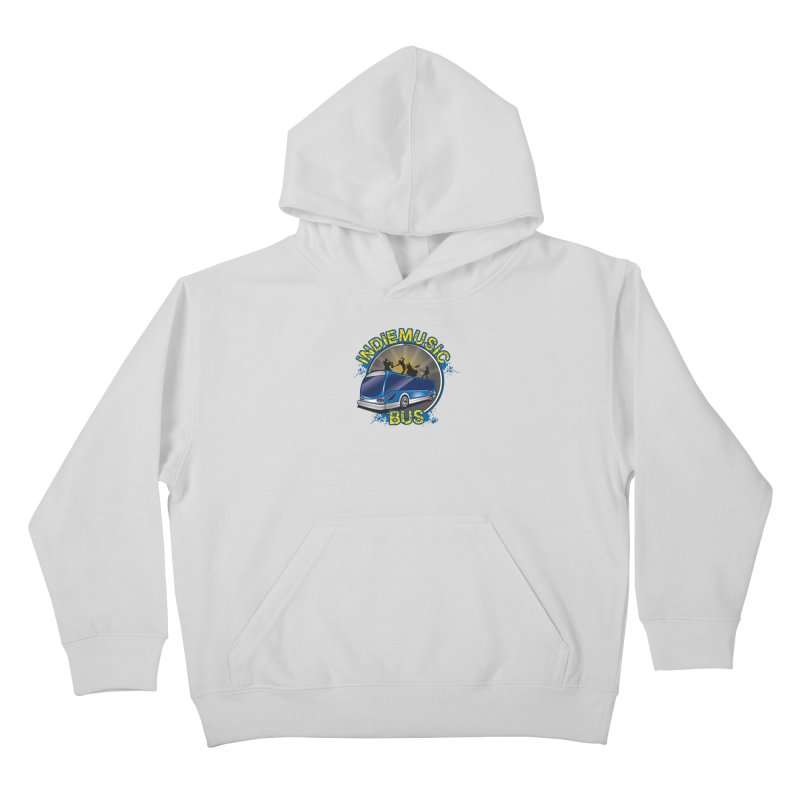 Indie Music Bus Logo Kids Pullover Hoody by Indie Music Bus Stop and Shop