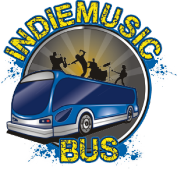 Indie Music Bus Stop and Shop Logo
