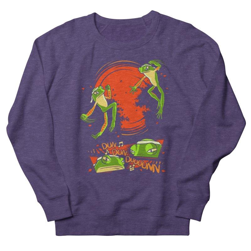 Peruvian Fighting Frogs Women's Sweatshirt by indigo's Artist Shop