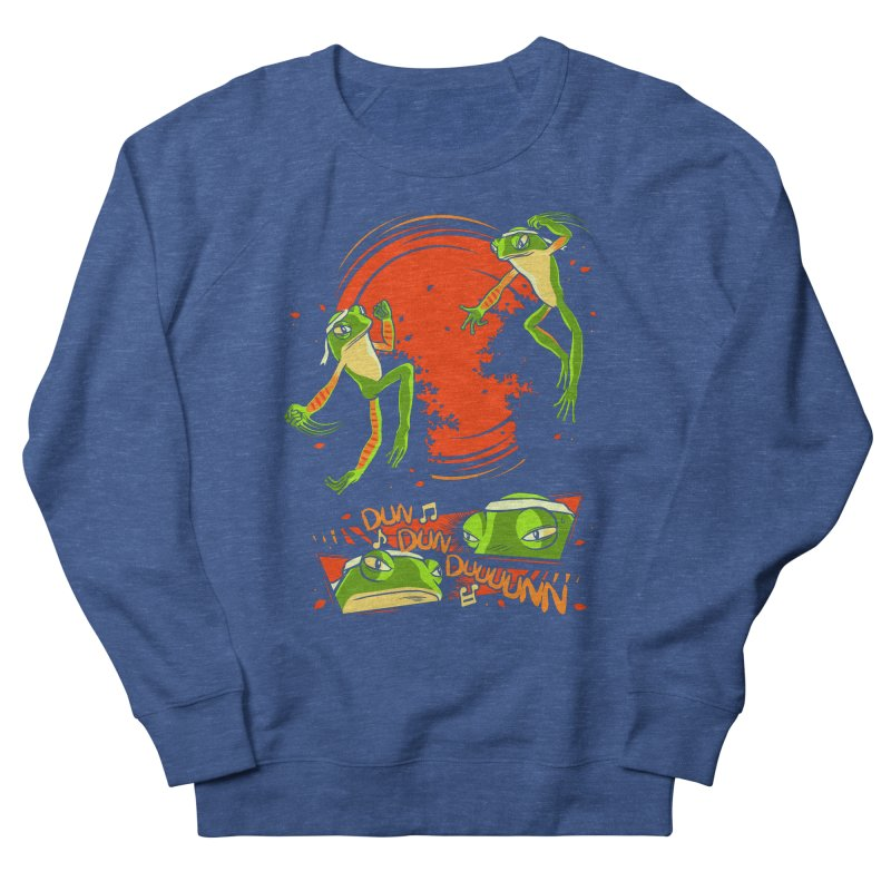 Peruvian Fighting Frogs Men's Sweatshirt by indigo's Artist Shop
