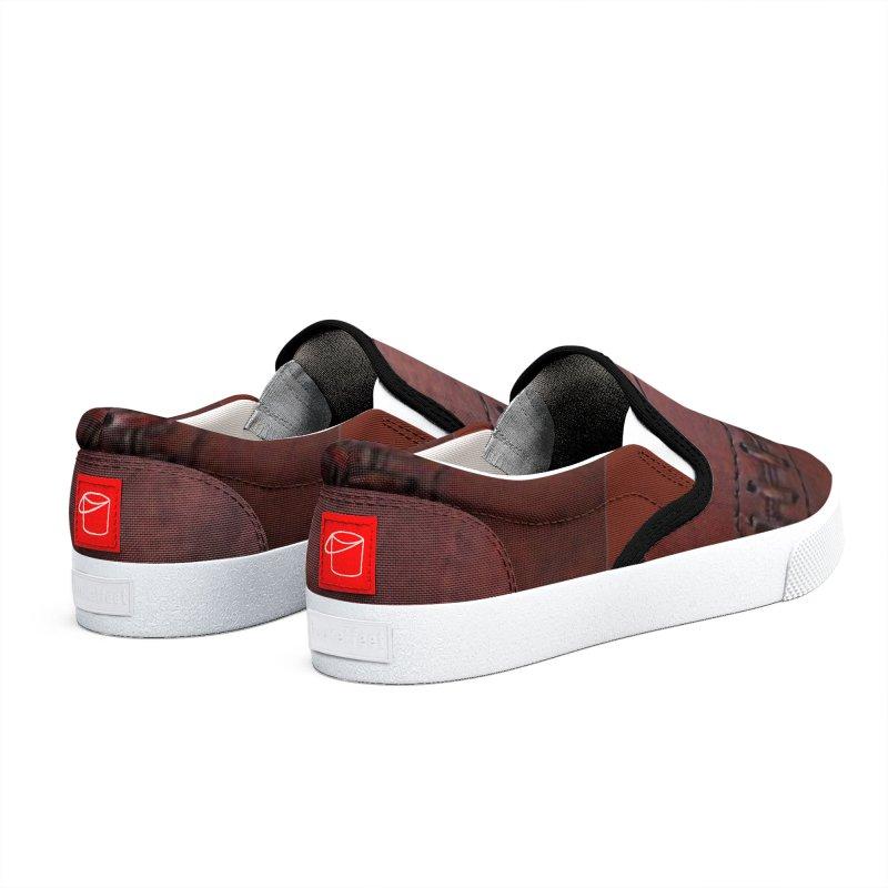 RETRO LEATHER Men's Shoes by Indigoave Artist Shop