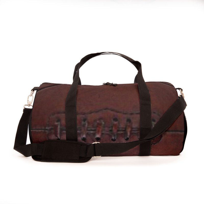 RETRO LEATHER Accessories Bag by Indigoave Artist Shop