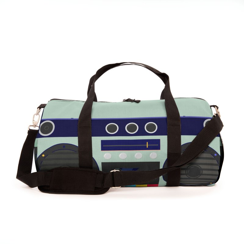 MUSIC PLAYER Accessories Bag by Indigoave Artist Shop