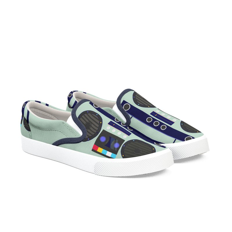 MUSIC PLAYER Men's Shoes by Indigoave Artist Shop
