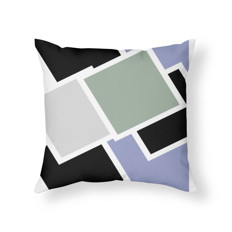 Geometric Cubes Home Throw Pillow by Indigoave Artist Shop