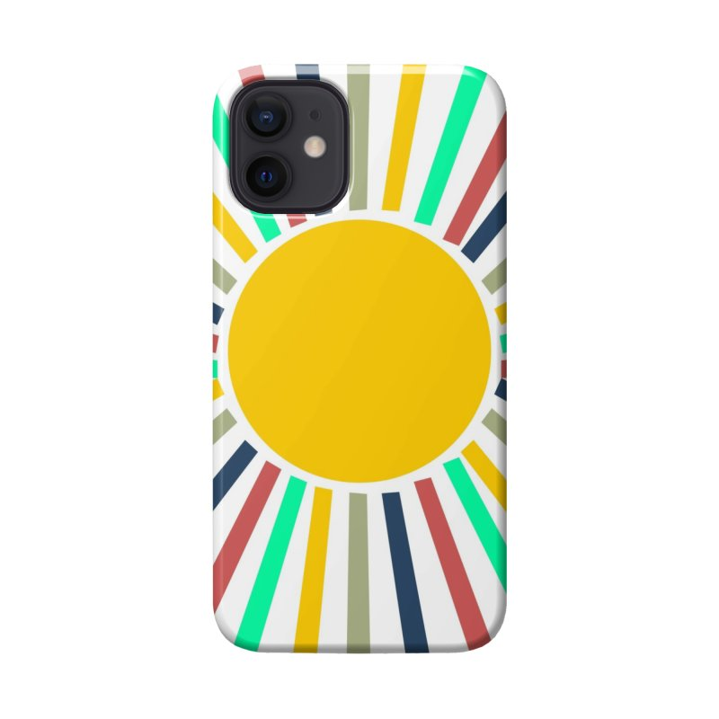 SUN RAYS Accessories Phone Case by Indigoave Artist Shop