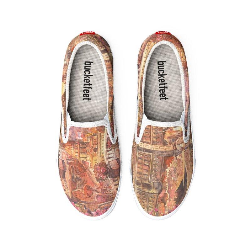 PARIS Men's Shoes by Indigoave Artist Shop