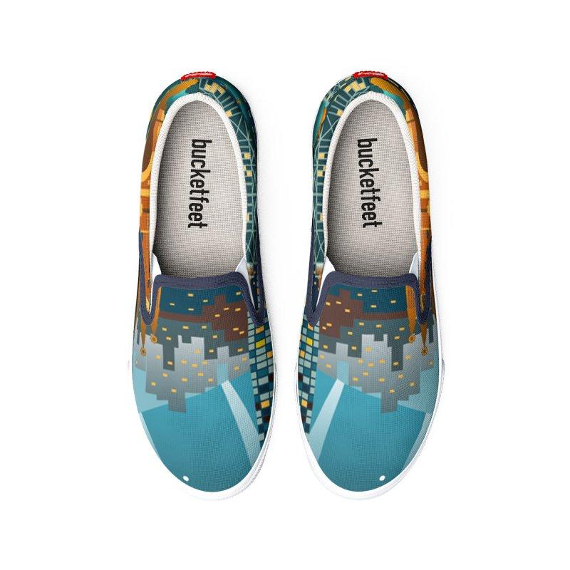 BARCELONA CITY Men's Shoes by Indigoave Artist Shop