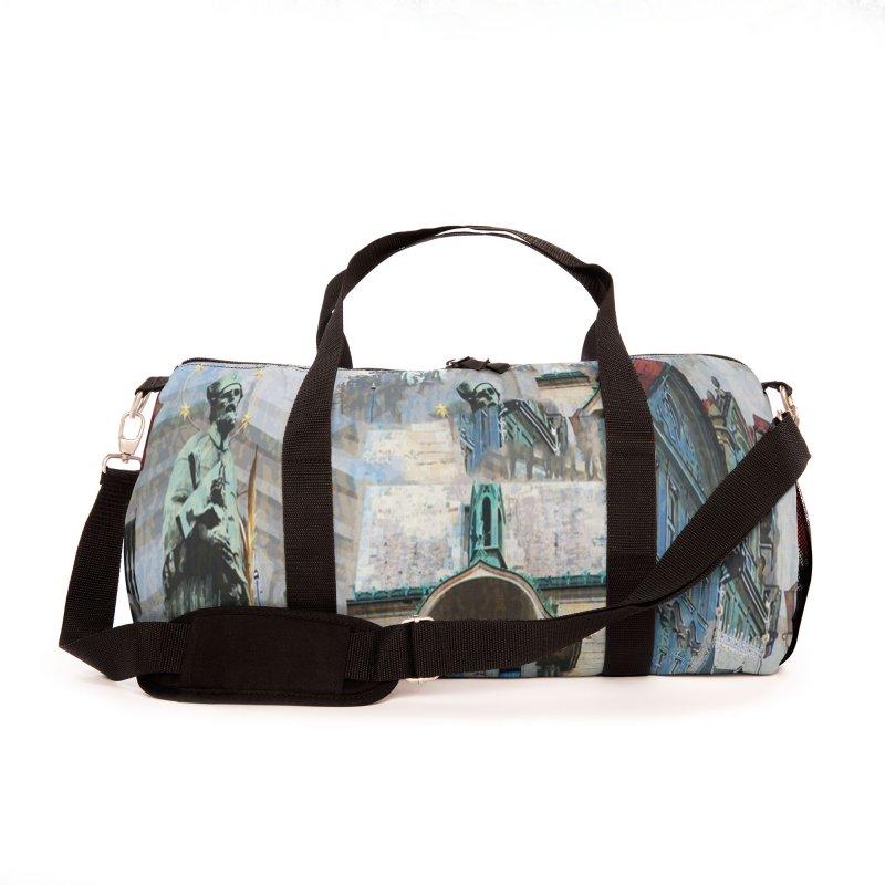 PRAGUE CITY Accessories Bag by Indigoave Artist Shop