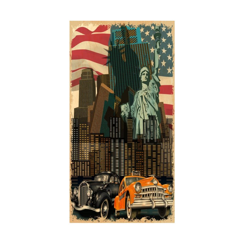 New York City Accessories Button by Indigoave Artist Shop