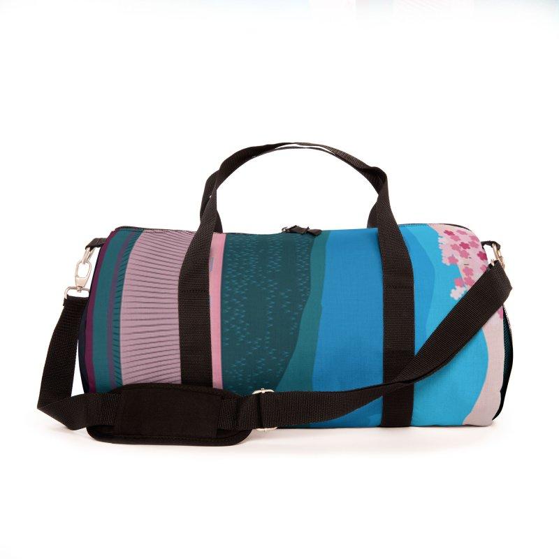 JAPANESE LANDSCAPE Accessories Bag by Indigoave Artist Shop