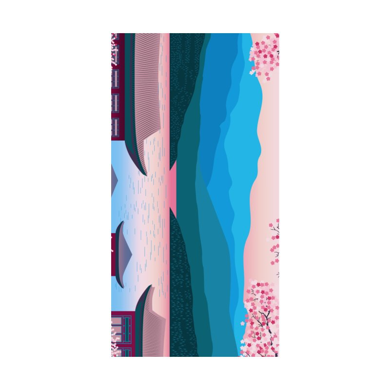 JAPANESE LANDSCAPE Home Shower Curtain by Indigoave Artist Shop