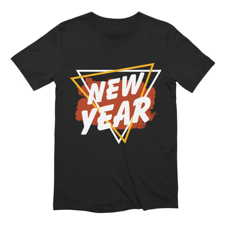 NEW YEAR Men's T-Shirt by Indigoave Artist Shop
