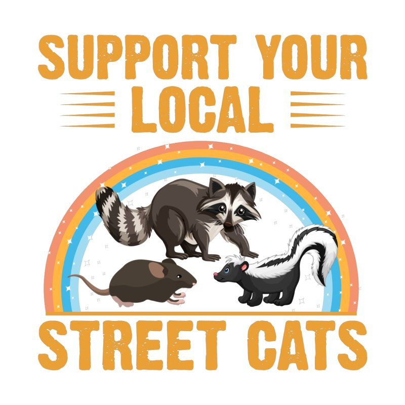 SAVE YOUR LOCAL STREET CATS Men's T-Shirt by Indigoave Artist Shop