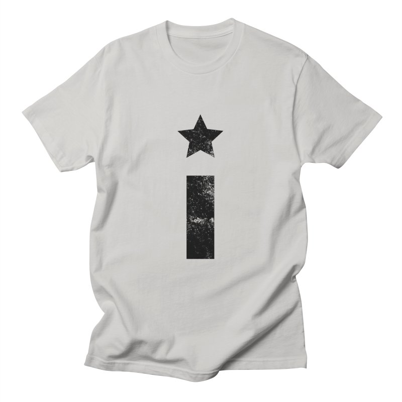 """Distressed """"I"""" Indivisible Logo Men's T-Shirt by Shop Indivisible"""