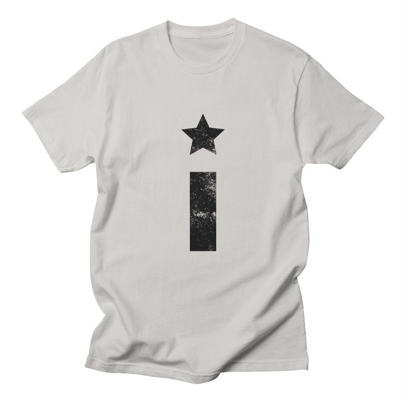 "Distressed ""I"" Indivisible Logo Men's T-Shirt by Shop Indivisible"