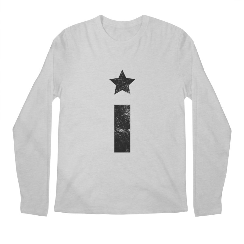 "Distressed ""I"" Indivisible Logo Men's Regular Longsleeve T-Shirt by Shop Indivisible"