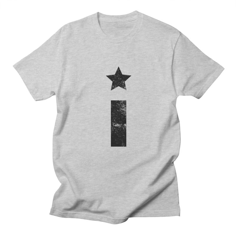 "Distressed ""I"" Indivisible Logo Men's Regular T-Shirt by Shop Indivisible"