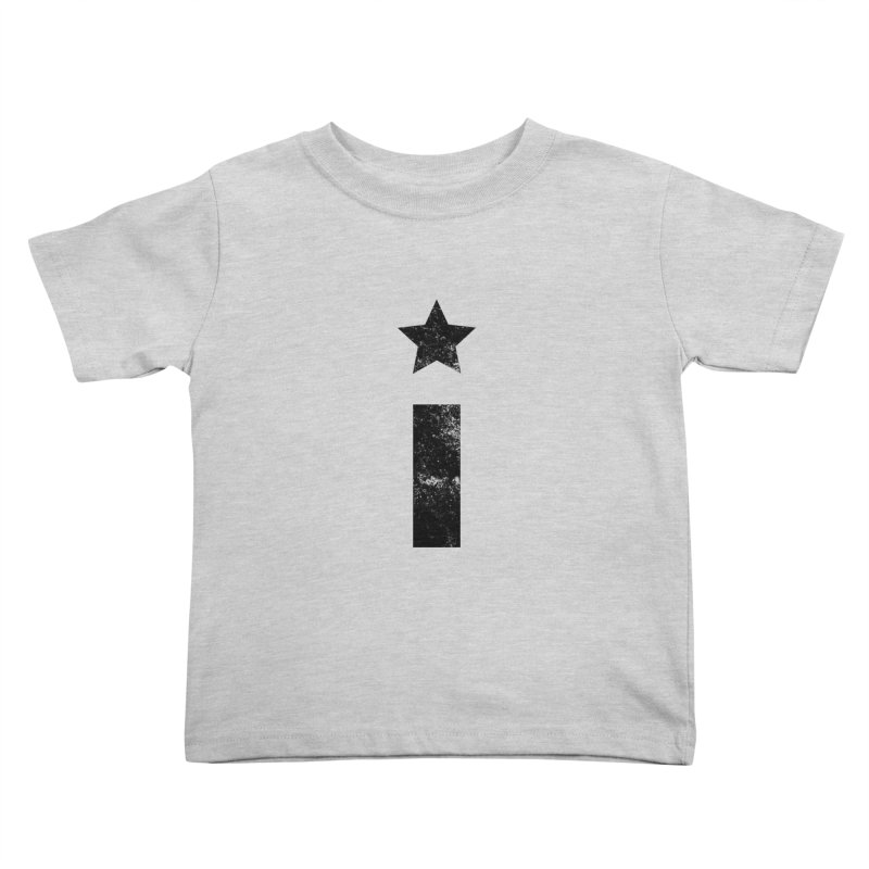 "Distressed ""I"" Indivisible Logo Kids Toddler T-Shirt by Shop Indivisible"